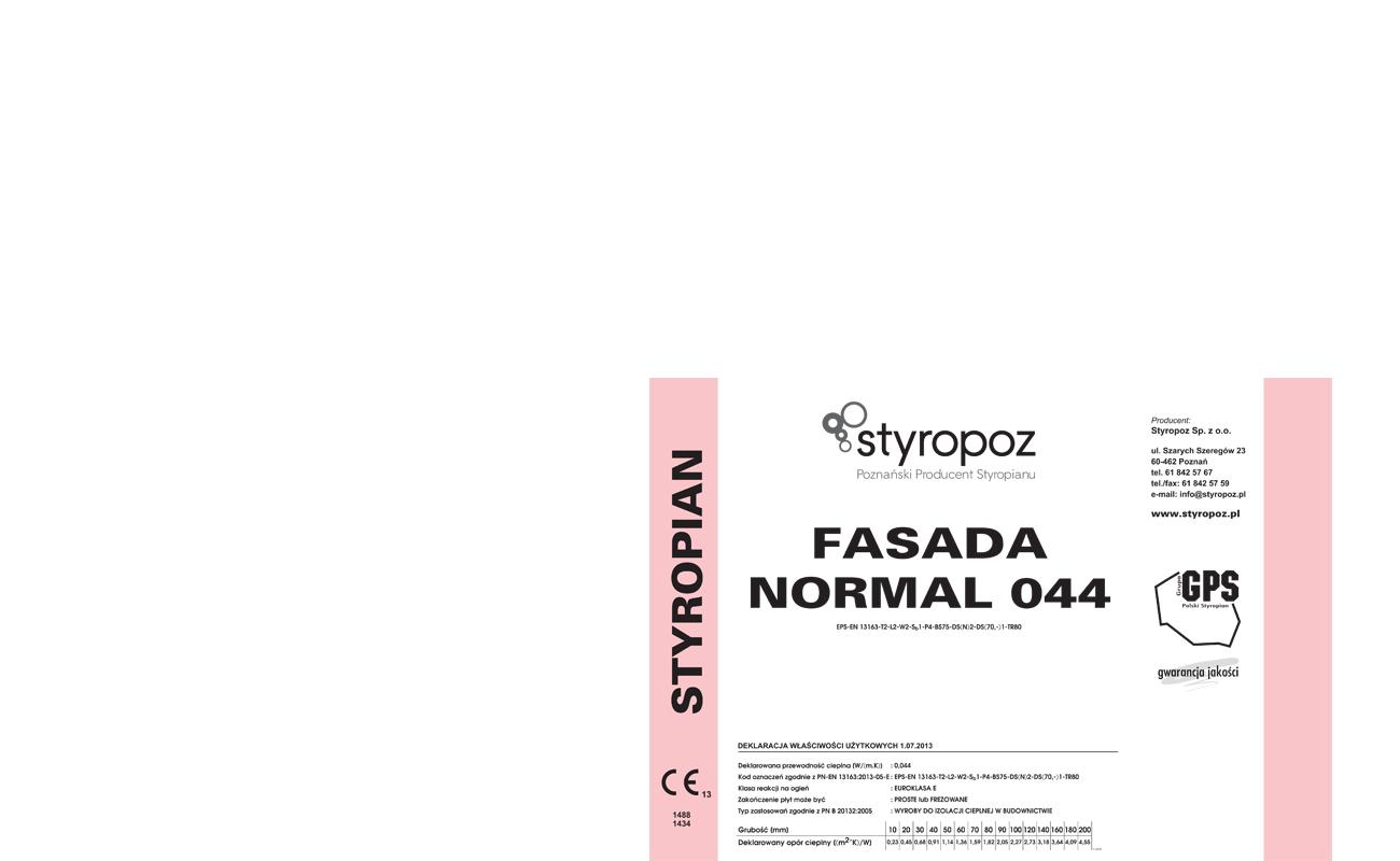 STYROPOZ - Poznański Producent Styropianu - FASADA SPECJAL 044